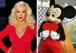 Christina Aguilera hatte einen heftigen Streit mit Micky Maus