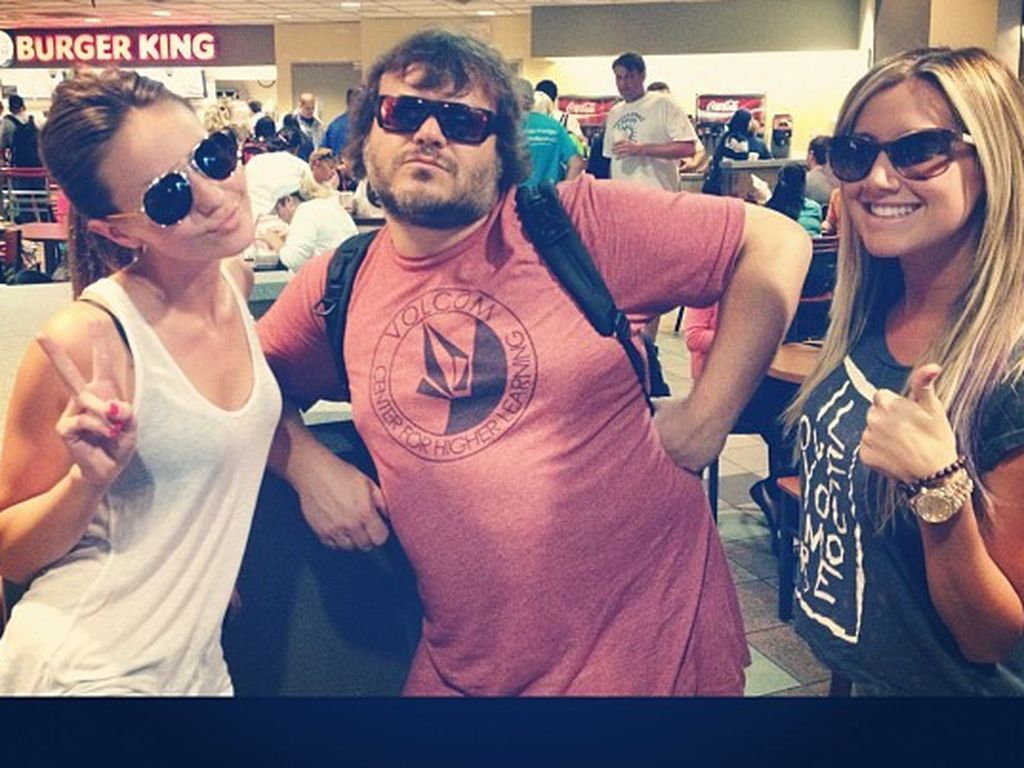 Ashley Tisdale mit Jack Black
