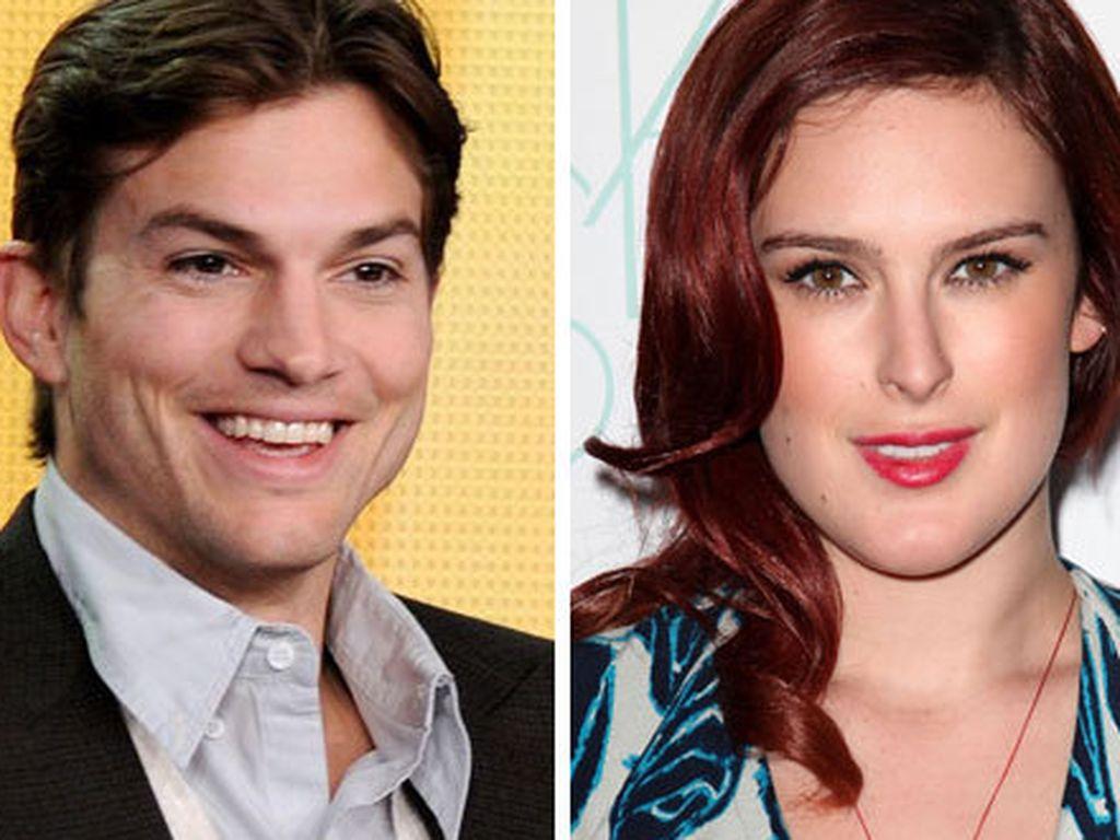Ashton Kutcher und Rumer Willis