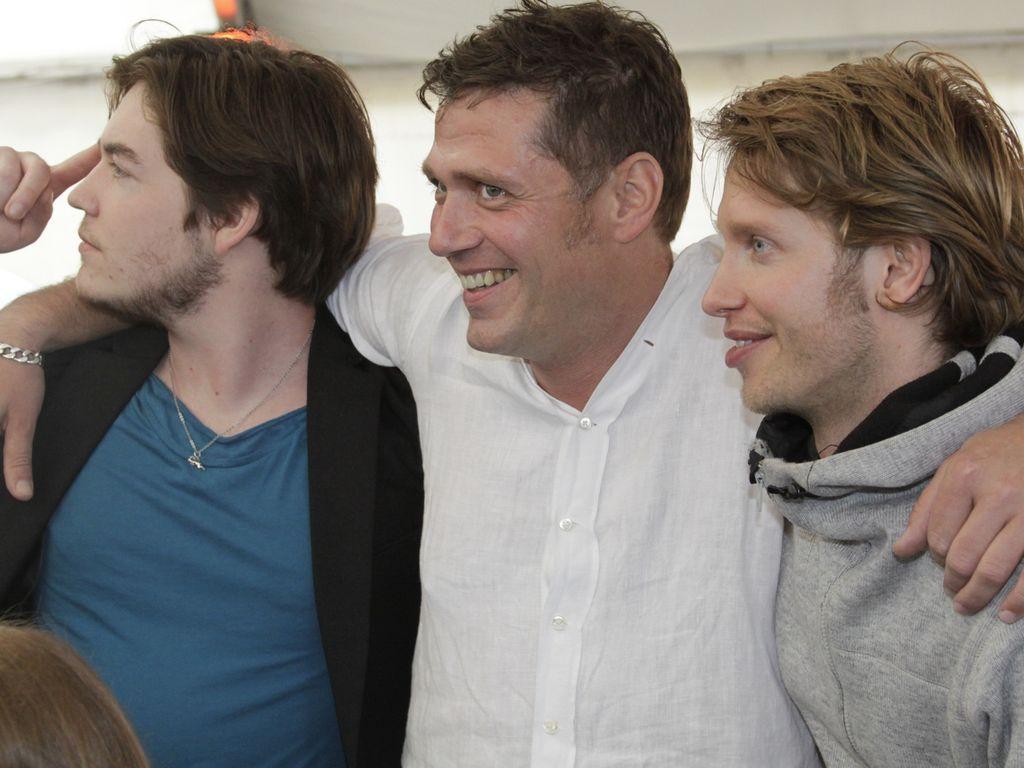 Björn, Frederic und Bernhard