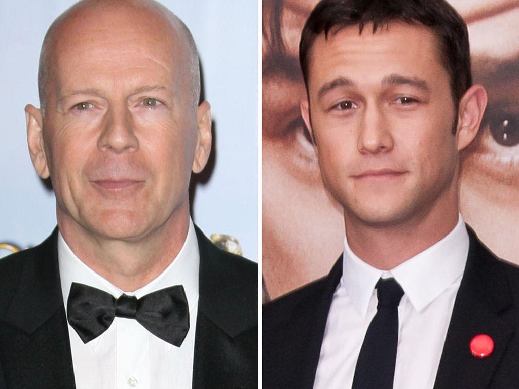 Bruce Willis und Joseph Gordon-Levitt