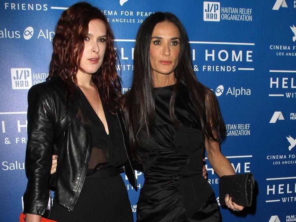 Demi Moore und Tochter Rumer Willis