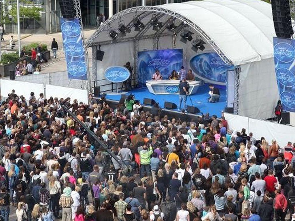 DSDS-Casting in Köln