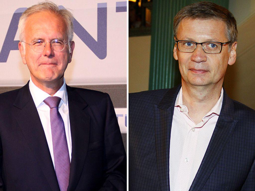 Günther Jauch und Harald Schmidt