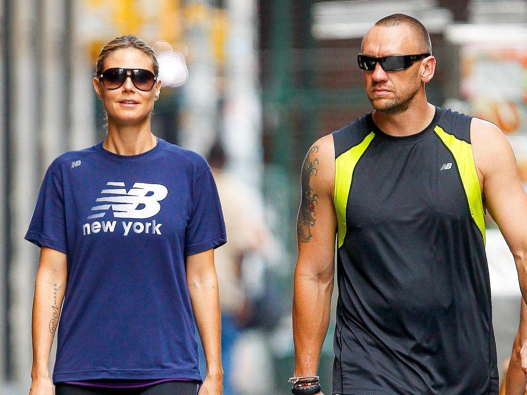 Heidi Klum und Bodyguard Martin Kristen