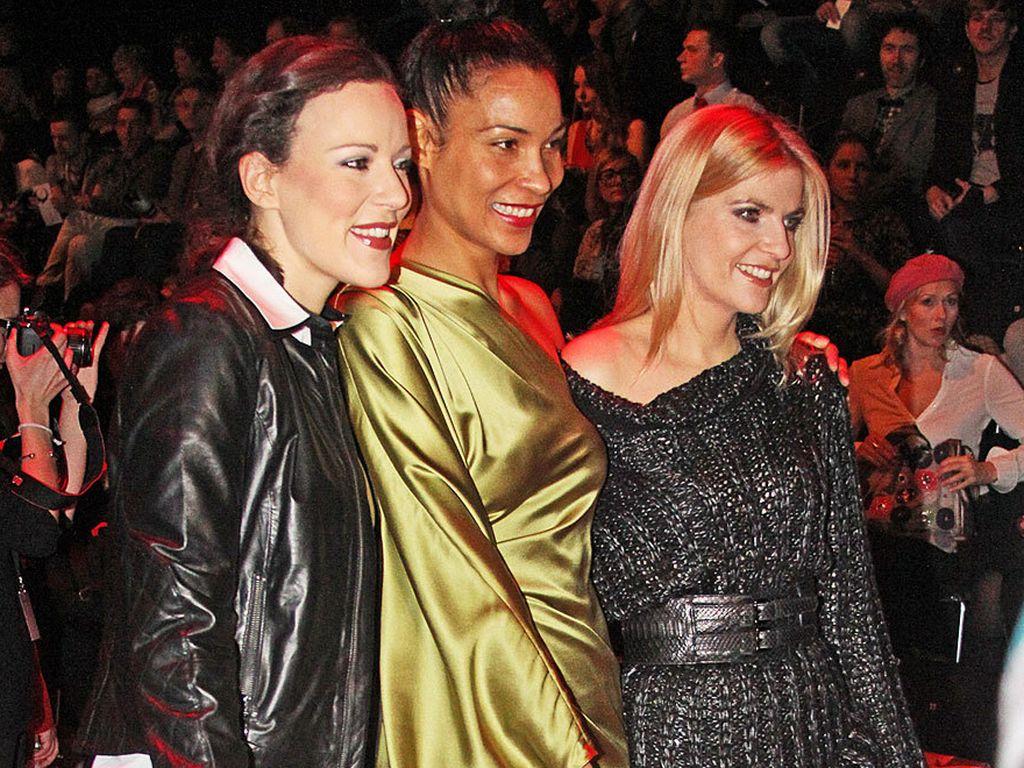 Jasmin Wagner und Co. bei der Fashion Week