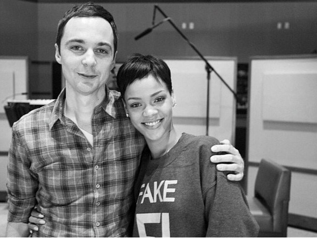Jim Parsons und Rihanna