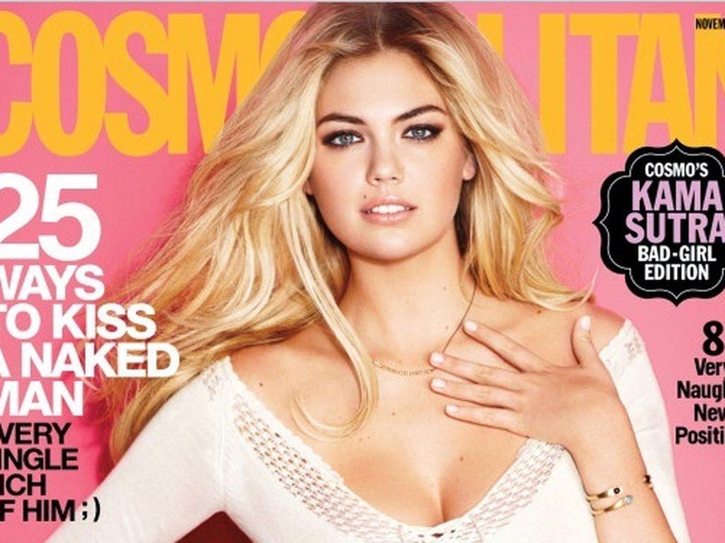 Kate Upton auf dem Cover der Cosmopolitan