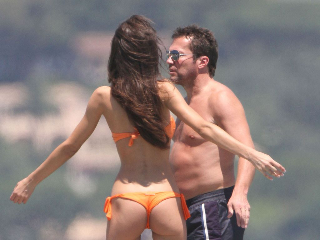 Lothar mit Joanna im Urlaub