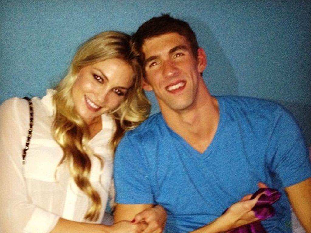 Michael Phelps und Megan Rossee