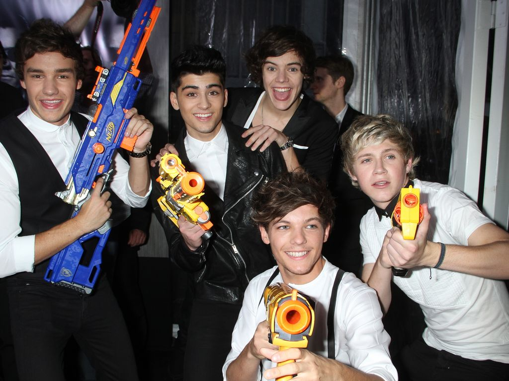 One Direction bei der MiB III-Premiere in New York