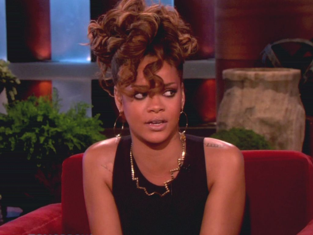 Rihanna bei Ellen