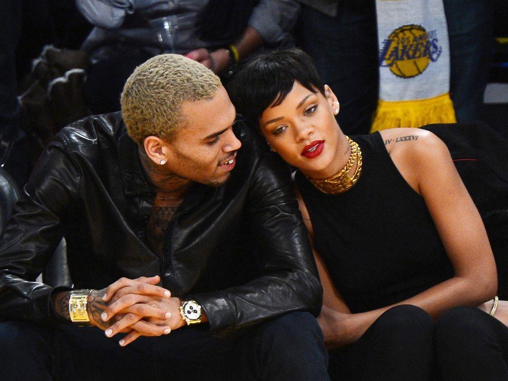 Rihanna und Chris Brown verliebt