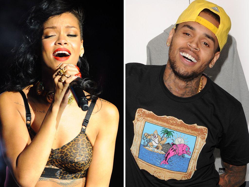 Rihanna und ihr Liebster Chris