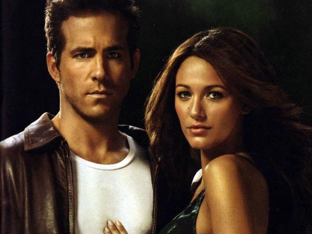 Ryan Reynolds und Blake Lively posieren zusammen