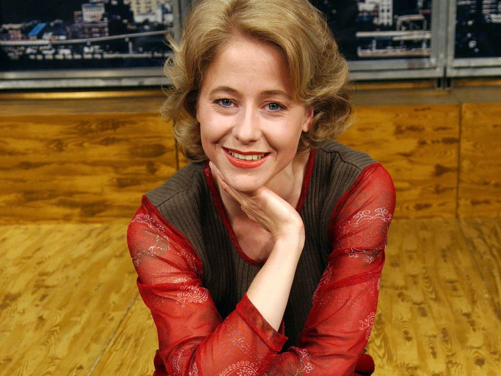 Silvia Seidel in roter Jacke