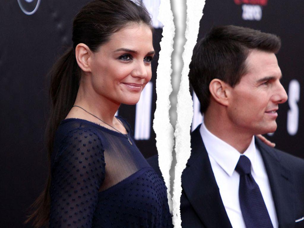 Trennung: Katie Holmes und Tom Cruise