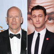 "Joseph Gordon-Levitt mimt in dem Film ""Looper"" den jungen Bruce Willis"