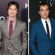 Robert Pattinson vs. Ian Somerhalder: Wer wird diesen Vampirkampf wohl gewinnen?