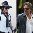 Johnny Depp erzählte, dass Hunter Thompson und er selbst einst mit Gewehren Don Johnson auflauerten