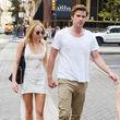 Liam Hemsworth ist genervt von Miley Cyrus, die ihn zum Filmset in Philadelphia begleitete