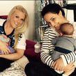 Nina Moghaddam und Natalie Horler sind erst vor weniger Zeit Mamis geworden
