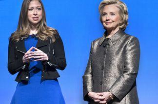 Chelsea Clinton leidet nun im Wahlkampf ihrer Mutter