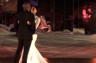Kanye West und Kim Kardashian sind jetzt ein Jahr verheiratet