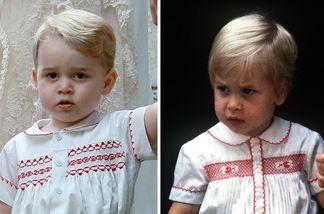 Prinz George kam zur Taufe seiner Schwester als Double seines Vaters