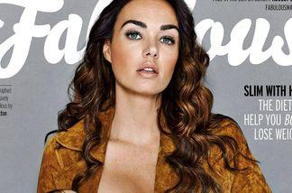 Tamara Ecclestone stillt ihr Kind auf dem Fabulous-Magazin
