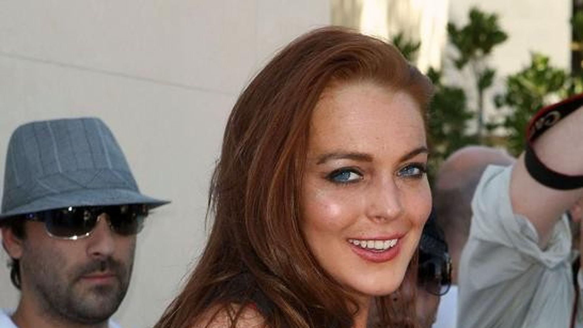 Lindsay Lohan posiert als die neue Marilyn - Jolie