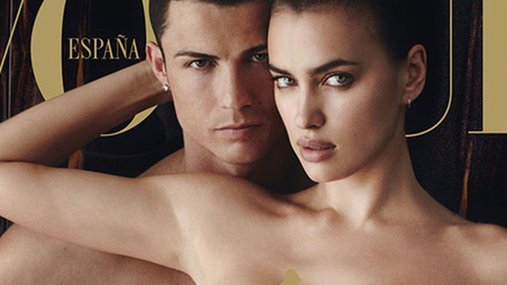 Cristiano Ronaldo: Komplett nackt auf der Vogue