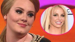 Adele und Britney Spears Collage