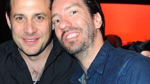 Alec Völkel und Sascha Vollmer von The BossHoss bei Aftershow-Party