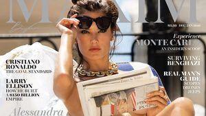 Alessandra Ambrosio auf dem Maxim Cover