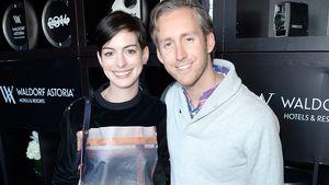 Anne Hathaway und Adam Suhlman etwas legerer
