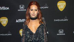 Ashley Tisdale im Stern-Kleid