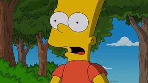 Bart Simpson guckt erstaunt