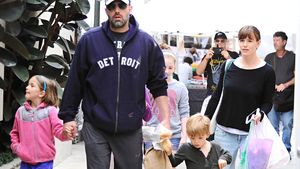 Ben Affleck und Jennifer Garner gemeinsam mit den Kids