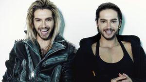 Bill und Tom Kaulitz in cooler Pose