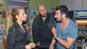 Birte Glang mit Mustafa Alin