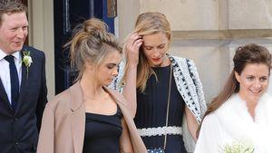 Cara Delevingne trägt die Schleppe von Chloe Delevingne