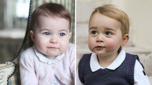 Charlotte und George nebeneinander