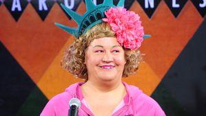 "Cindy aus Marzahn im ""Caroline's Comedy Club"" in New York"