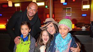 Detlef D Soost und Kate Hall mit ihren Kindern
