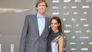 Dirk und Jessica Nowitzki auf dem roten Teppich