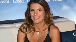 Elisabetta Canalis fröhlich auf der Movie meets Media