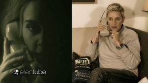 Ellen mit Adele