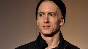Eminem mit deutlich schmalerem Gesicht