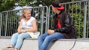 Estefania Wollny mit Freund Max